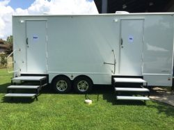 Porta Potty Trailer